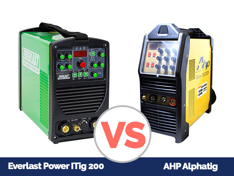 AHP AlphaTig VS Everlast Power iTig 200