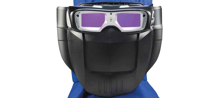 Front View of Welding Goggles