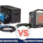 Miller Spectrum 625 VS Hypertherm Powermax 45XP