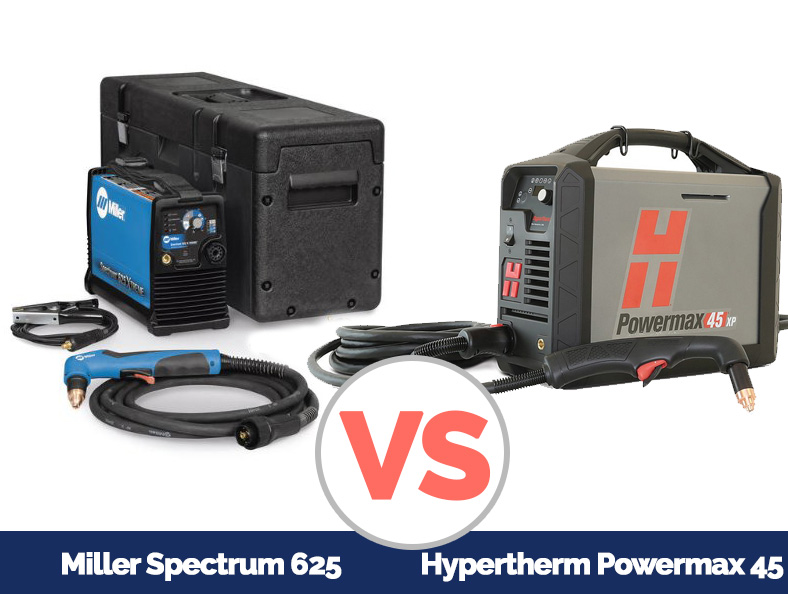 Miller Spectrum 625 >> Comparison Of Miller And Hypertherm Plasma Cutter Who S