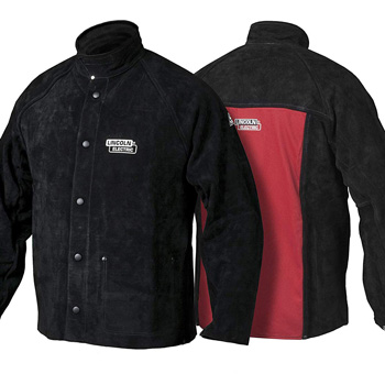 Small product image of Lincoln Electric Heavy Duty Leather Welding Jacket