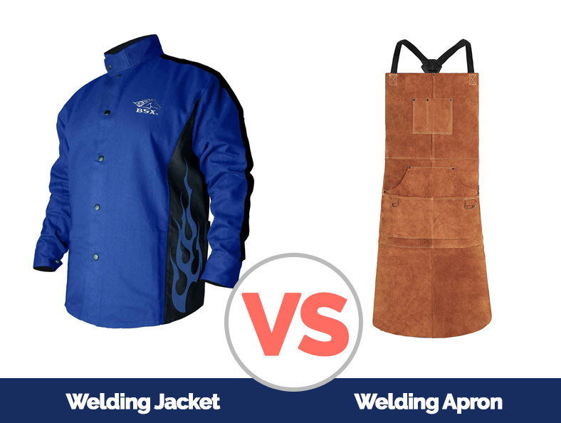 A comparison between a Welding Jacket and a Welding Apron