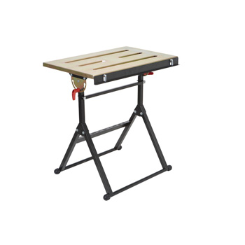 a product image of Chicago Electric Adjustable Steel Welding Table