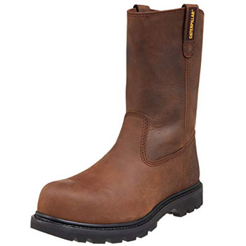 A product image of Caterpillar Men's Revolver Pull-On Steel Toe Boot