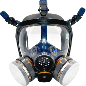 Small Product Image of Full-Face Organic Respirator Mask