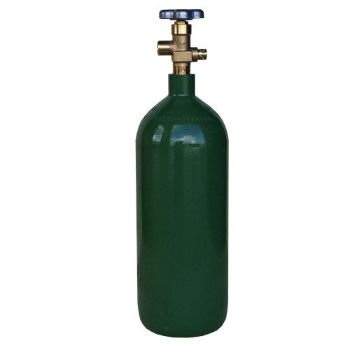 New 20 cu ft Steel Oxygen Cylinder