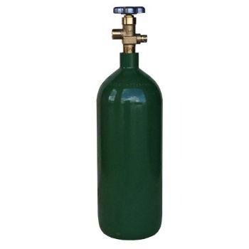 New 20 cu ft Steel Oxygen Cylinder