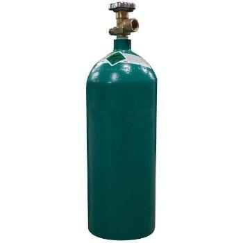 40 cu ft 75% Argon 25% CO2 Welding Tank