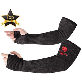 Small Product Image of EasyLife185 Kevlar-Sleeves Arm Protection Sleeves