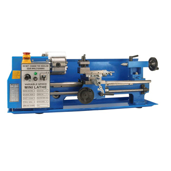 Product image of Erie Tools 7x14 Precision Bench Top Mini Metal Milling Lathe