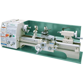 "Product image of Grizzly Industrial G0602-10'' x 22"" Benchtop Metal Lathe"