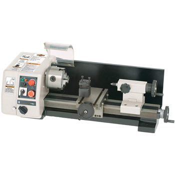 Product image of Shop Fox M1015 6-inch by 10-Inch Micro Lathe