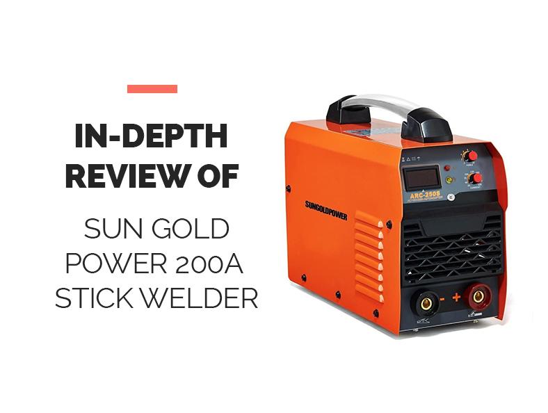 Sun Gold Power 200A Stick Welder