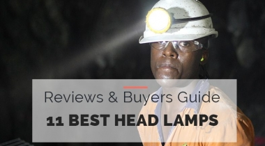 11 Best Head Lamps Buyers Guide 2021 [ Hard Hat Lights]