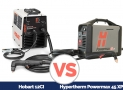 Hobart 12CI Plasma Cutter vs. Hypertherm Powermax 45 XP Comparison 2021