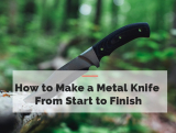 How to Make a Metal Knife or Machete from Start to Finish