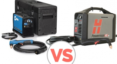 2021 Miller Spectrum 625 VS Hypertherm Powermax 45 Comparison